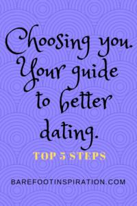 choosing you, your next step in dating
