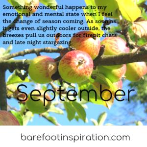September harvest.