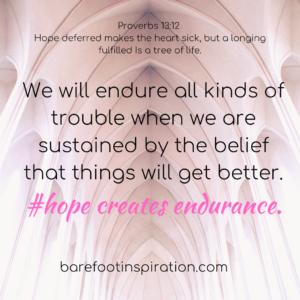 hope creates