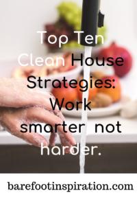 Top Ten Clean House Strategies