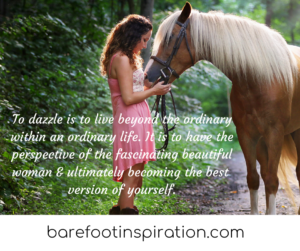 to dazzle, change your perspective