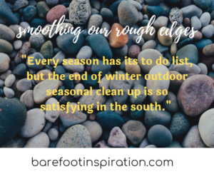 smoothing our rough edges